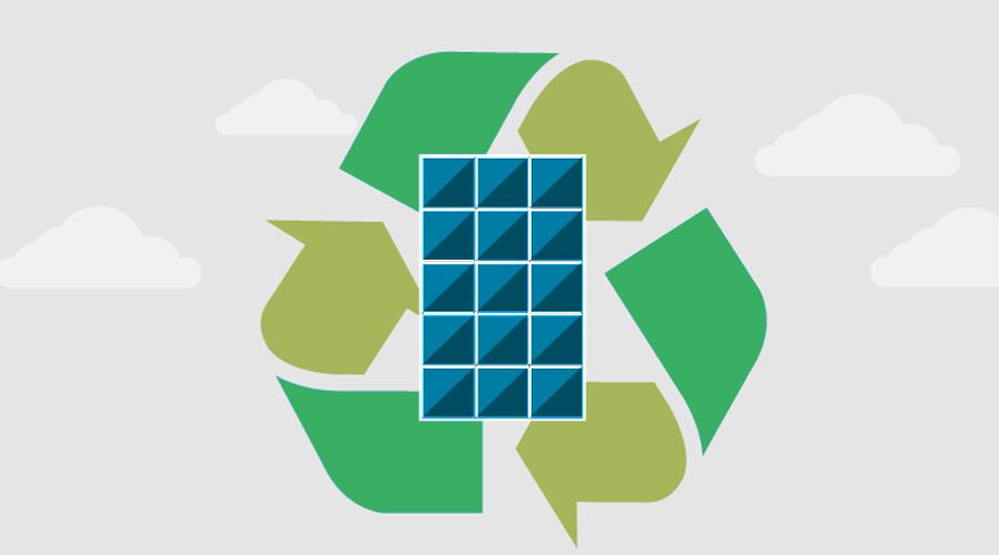 riciclaggio pannelli fotovoltaici