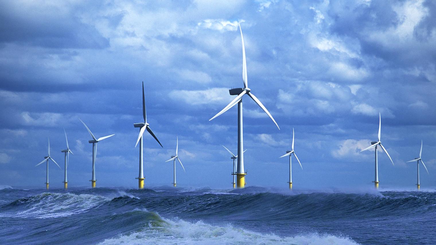 Lo sviluppo dell'eolico offshore